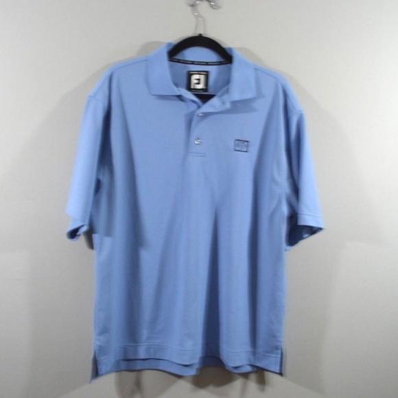 e5e2a7ea0 FootJoy Shirts | Men M Short Sleeve Golfing Golf Polo Shirt | Poshmark